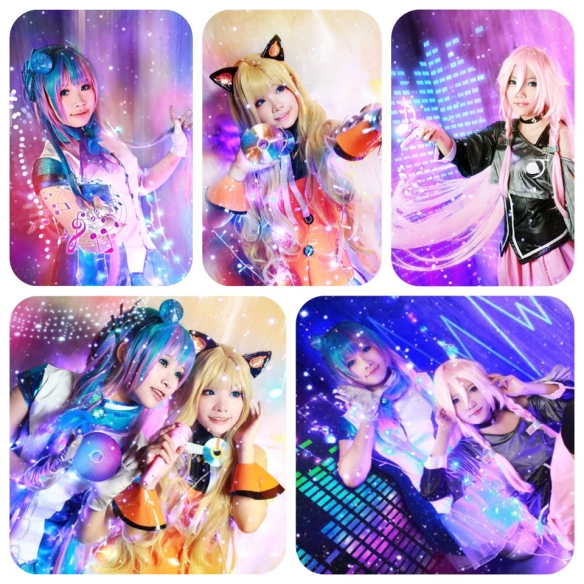 vocaloid 3 by fairy x meimei x hitomi